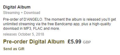 Bandcamp release date discrepancies - MusicBrainz