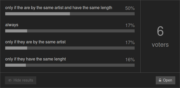 old poll