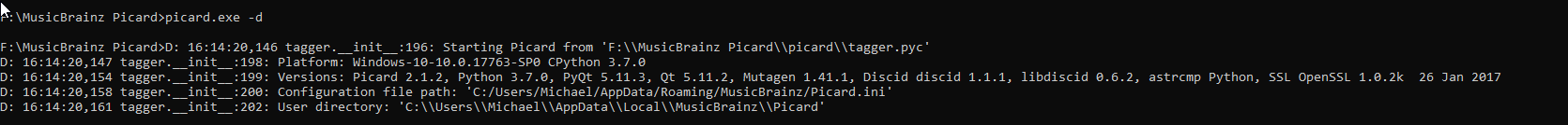 d9885f4f59bc9 Musicbrainz Picard 2.1 crashes while saving the 5th song ...